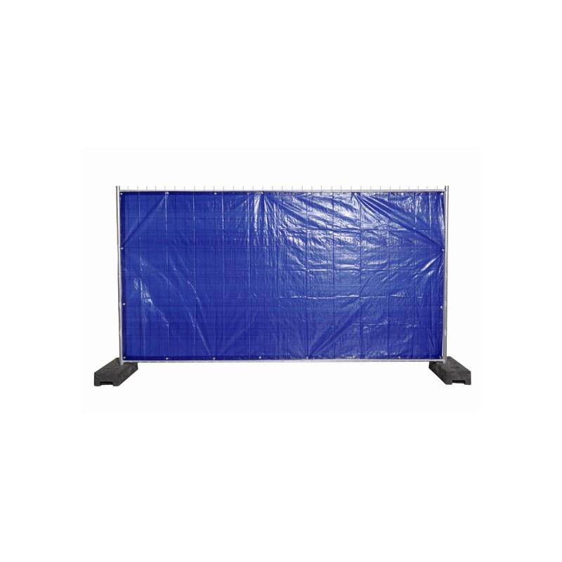 bouwhekdoek blauw