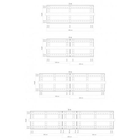 Afdekzeil transparant boot