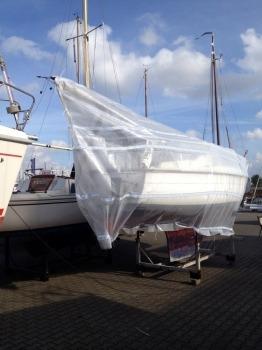 Afdekzeil boot